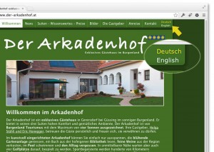 website-sprachumschalter